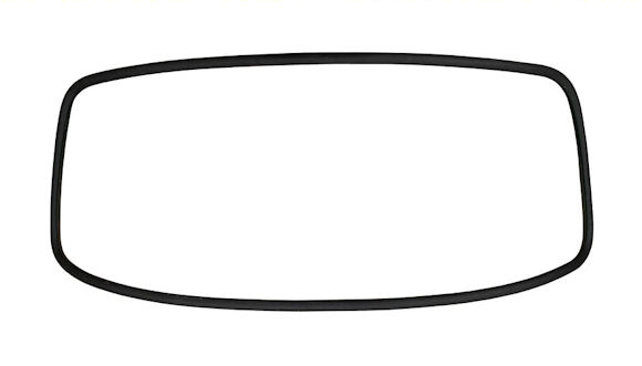 Windscreen Seal 68-79 - German