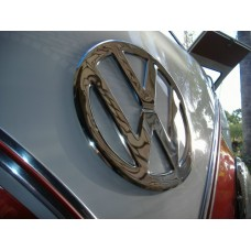 Front Badge Stainless Steel 55-67