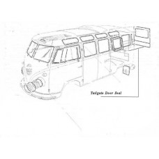 Tail gate seal to Body 3/50-63