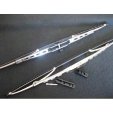 Wiper Blade 68-79 polished Stainless Steel PAIR