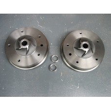 Wide 5 Drums to fit Late Bay Hubs Pair