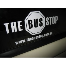 The Bus Stop Sticker