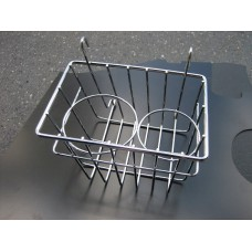 Dash Basket and Cup Holder 55-67 - chrome